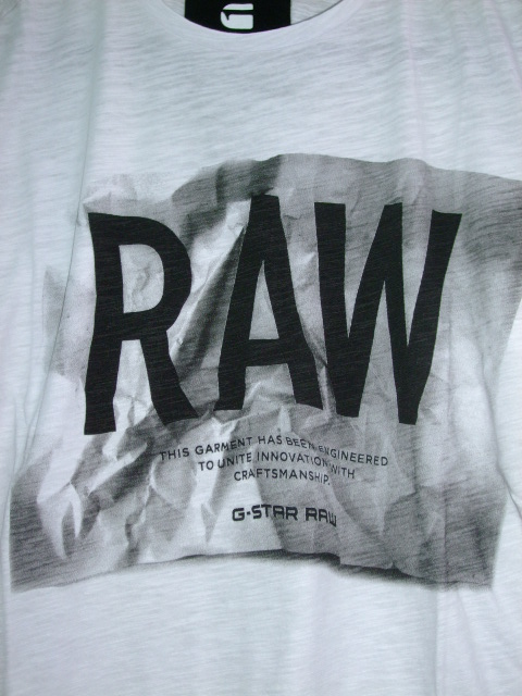 G-STAR RAW STYLE:Lenk 3 rt s/s ART:D01540 4834 110 COLOR:white FABRIC:Jisoe jersey