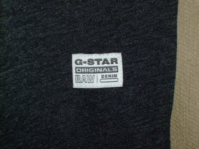G-STAR RAW STYLE:Oranium rt s/s ART:D01318 2757 390 COLOR:Black htr FABRIC:NY jersey