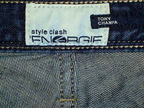 ENERGIE TONY CHAMPA TROUSERS 34 REGULAR SLIM FIT STYLE 9C4R00 SIZE WASH LOOB81 ART.DY0476 COL.F09950 PRD706 MADE IN ITALY 100%COTTON|ENERGIE エナジー