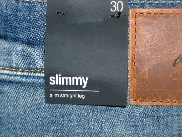 7 FOR All MANKIND MEN'S SLIMMY SLIM STRAIGHT JEAN IN SEASIDE VINTAGE