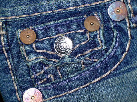 TRUE RELIGION JOEY SUPER T STYLE:M24803F66 COLOR:GRD TENNESSEE