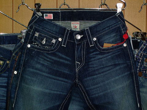 TRUE RELIGION RICKY HANDSTITCH STYLE:M24859J36 COLOR:BBD REVOLVER