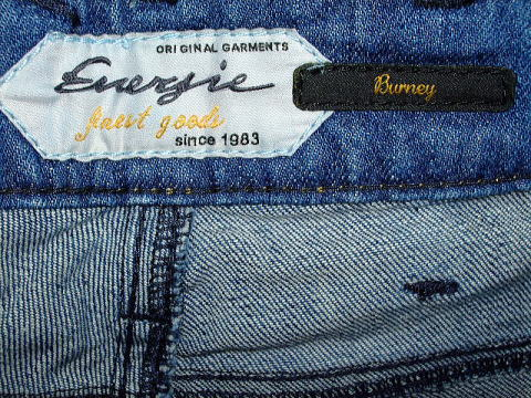 ENERGIE BURNEY TROUSERS 32 SLIM FIT STYLE.9D840S SIZE WASH.LOOP55AR.DL9861 COL.F09950 COP116 MADE IN EGYPT 98%COTTON 2%ELASTANE