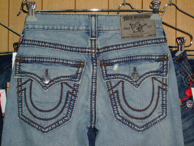 デニム|TRUE RELIGION RICKY BIG QT (0038)