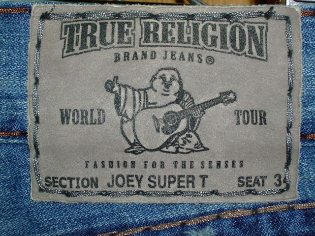 デニム|TRUE RELIGION JOEY SUPER T (0042)