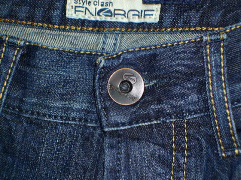 ENERGIE NEW MORRIS TROUSERS 32 REGULAR SLIM FIT DENIM STYLE.9I9S00 SIZE WASH.LOOR76 ART.DY0476 COL.F09950 PRD39 MADE IN ITALY 100%COTTON