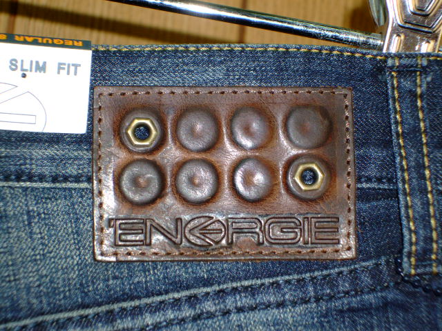 ENERGIE NEW MORRIS TROUSERS 32 REGULAR SLIM FIT DENIM STYLE.9I9S00 SIZE WASH.LOOR76 ART.DY0476 COL.F09950 PRD39 MADE IN ITALY 100%COTTON|ENERGIE エナジー