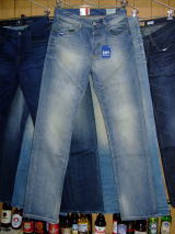 G-STAR RAW 3301 STRAIGHT MEMPHIS DENIM LT AGED T.P W29×L34