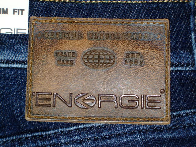 ENERGIE NEW MORRIS TROUSERS 34 REGULAR SLIM STYLE:9I2R00 SIZE WASH:L00X53 ART.DL0138 COL:F09950 PRD209 MADE IN ITALY 98%COTTON 2%ELASTANE