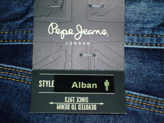 デニム|PEPE JEANS LONDON ALBAN RELAXED (0086)