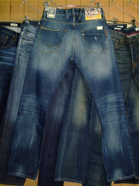 REPLAY BROWANN M980 RELAXED 118 850 BLUE DENIM