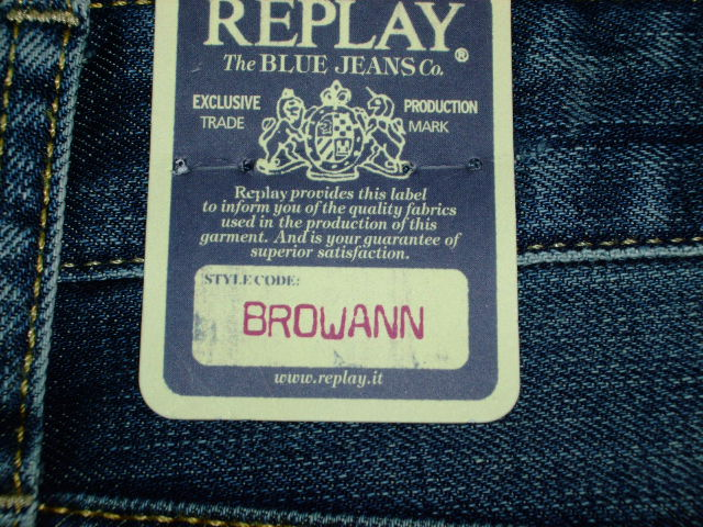 デニム|REPLAY BROWANN M980 RELAXED (0089)