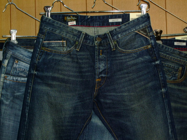 REPLAY WAITOM M983 SLIM 118 873 BLUE DENIM
