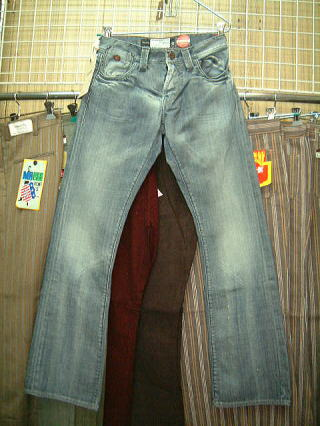 ENERGIE Stevenson trousers STYLE 9B18 SIZE WASH Q2 ART.0451 COL.0995 3902 MADE IN ITALY 100%COTTON