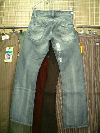 ENERGIE Stevenson trousers STYLE 9B18 SIZE WASH Q2 ART.0451 COL.0995 3902 MADE IN ITALY 100%COTTON|ENERGIE エナジー