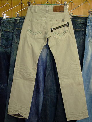 ENERGIE Joe Caputo trousers STYLE 9C6R SIZE WASH 38 ART.0433 COL.0995 MADE IN ITALY 100%COTTON|ENERGIE エナジー